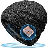 HANPURE Bluetooth Gorro Invierno Hombre Regalos Originales - Gorro con Auriculares Bluetooth 5.0, Gorro de Punto Bluetooth In