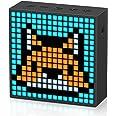 Divoom Timebox-Evo Pixel Art Tragbarer Bluetooth Lautsprecher mit Programmierbares 256 LED Panel, 3.9 x 1.5 x 3.9 Zoll (Schwa