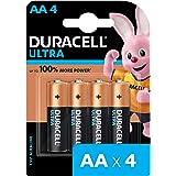 Duracell Ultra Alkaline AA Batteries (Pack of 4)
