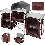 TecTake 800585 - Cocina de Camping, Aluminio, Ligera ...