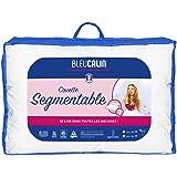 Bleu Câlin Couette Segmentable 2 Personnes, Lavable Facilement, Blanc, 220x240 cm, KSGB40