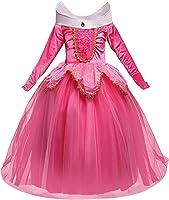 NNDOLL Aurora Principessa Vestito sleeping beauty Costume bambina carnevale abito 856