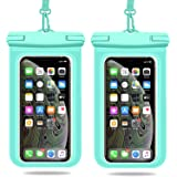 Weuiean Wasserdichte Handyhülle, wasserdichte Handy-Tasche mit abnehmbarem Umhängeband, Phone Dry Tasche für /11/SE/XS/XR 8/7