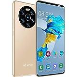 5.45in HD-helskärmsmobiltelefon, 1 + 8 GB Dual-kort Dual Standby-smarttelefon, högupplöst kamera, ansiktsigenkänning och fing