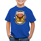 style3 Línea de Gatobús Camiseta para Niños T-Shirt Totoro Anime mi Vecino