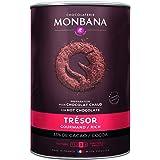 Chocolat en poudre MONBANA, 1 kg Trésor de monbana, préparation pour chocolat gourmand, chocolat chaud