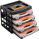 Boîte d'assortiment de coffrets de rangement avec 4compartiments –56100