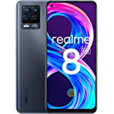 "realme 8 Pro Smartphone, Ultra Quad Camera da 108 MP, Display Super AMOLED da 16,3 cm (6,4""), Ricarica SuperDart da 50W, Gran"