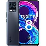 "realme 8 Pro Smartphone Libre, Cámara cuádruple Ultra de 108 MP, Pantalla completa AMOLED superior de 6,4"", Carga SuperDart d"