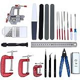HSEAMALL 23 pièces Kit d'outils de modélisme,Gundam Modeleur Basic Outils Craft Set,Bandai Hobby pour voiture modÈle assemble
