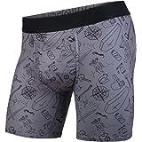 BN3TH Mens Entourage Base Layer Underwear - Active Comfort Quick Dry   Moisture Wicking   Baselayer Premium Boxer Shorts   Te