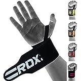RDX straps voor gewichtheffen, polssteun, trekhulp, fitness, polsbandage, optrekhulp (MEERWEG)