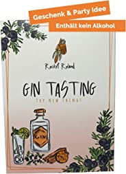Gin Tasting Party Set für Zuhause - ohne Alkohol - Perfekt als Geschenk für M?nner, Frauen und Gruppen – Rocket Roland - Gin