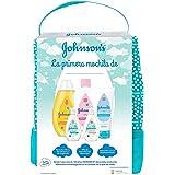 Johnson's Baby Set de Regalo Mi Primera Mochila, champú Clásico 300ml + Aceite Corporal 300ml + crema protector de pañal de 1