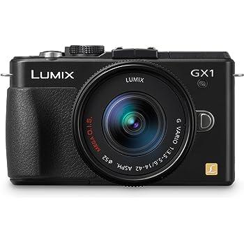 Panasonic Lumix DMC-GX1KEB-K 16MP Compact System Camera Kit with 14-42mm Lens - Black