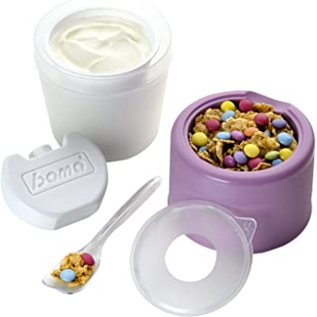 Bama Yo Kit Portayogurt, 9 cm, colori assortiti