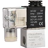 Heschen Elektrisch persluchtventiel 2V025-08 12VDC PT1/4 2/2-weg normaal gesloten