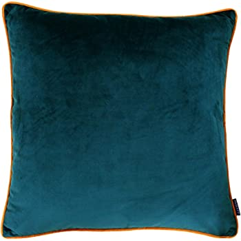 "35cm Made Australia 14/"" Mexican Fabric MIXED BLUE//GREEN STRIPES Cushion Cover"