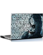 PIXELARTZ HD Dark Knight Joker Laptop Skin, 15.6-inch for Dell, Lenovo, Acer, HP, Sony(Multicolour, PA-15.6LS-3083)