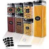 EKKONG Boîte de Conservation Alimentaire 7Pièces,Boîtes Hermetique Alimentaire,Boîtes Conservation Alimentaire pour Rangement