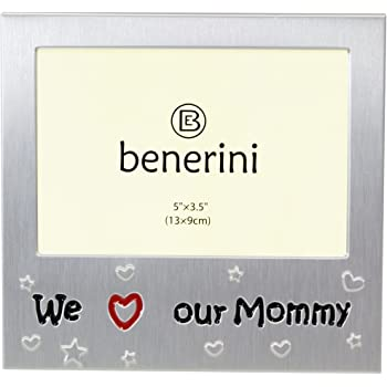 benerini \'We Love Our Mommy\' - Photo Picture Frame Gift - 5 x 3.5 ...