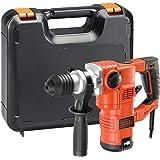 BLACK+DECKER KD1250K-QS Martello demolitore e scalpellatore 1250W-3.5J con accessori in valigetta