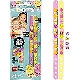 LEGO Dots 41910 LesBraceletsCrèmeglacée, Kit Création Bijoux DIY, Loisirs Créatifs et Bricolage pour Enfant de 6 Ans et Pl