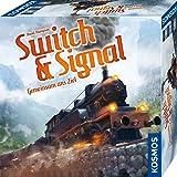 KOSMOS 694265 Switch & Signal, tillsammans med målet, samarbetsspel för 2 – 4 spelare, från 10 år, brädspel med enkla regler