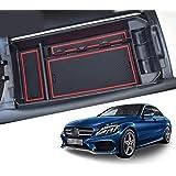 CDEFG Voor Mercedes C-Klasse GLC X253 W205 middenconsole handschoenenvak armleuning multifunctionele opslag auto center conso