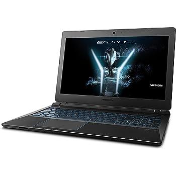 """Medion Erazer P6689 - Ordenador portátil DE 15.6"""" FullHD (Intel Core i7-8550U-QC, 16 GB RAM, 1 TB HDD + 128 GB SSD, NVIDIA GTX1050 de 4 GB VRAM, Windows 10) Negro - Teclado QWERTY español"""