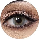 Anesthesia Addict Grey Unisex Contact Lenses, Anesthesia Cosmetic Contact Lenses, 6 Months Disposable - Addict Grey Color