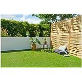 Cesped artificial terraza exterior California - rollo cesped artificial 2x5m 20mm de altura con alta densidad - calidad profe