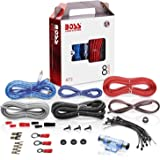 BOSS Audio Systems KIT2 8 Gauge Amplifier Installation Wiring Kit - A Car Amplifier Wiring Kit Helps You Make Connections and