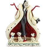 "Disney Traditions, Figura de Cruella De Vil de ""101 Dalmatas"", para coleccionar, Enesco"