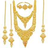 Sukkhi Wedding Jewellery Jewellery Set for Women (Golden) (N83811)