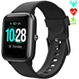 Smartwatch Cronometro Orologio Fitness Donna Uomo, Smart Watch GPS Fitness Tracker Impermeabile IP68 Cardiofrequenzimetro da