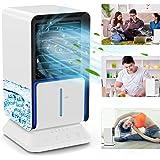 Climatiseur Portable, TedGem Climatiseur Mobile, Refroidisseur d'air Portable Tête de Secousse Gauche et Droite 45 °, 3 en 1