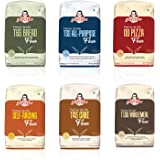 JOSEF MARC Assorted Trial Pack of 6 Speciality Baking Flour