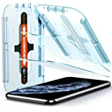 Spigen EZ Fit Protector Pantalla para iPhone 11 Pro y iPhone XS y iPhone X - 2 Unidades