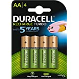 Duracell Turbo HR6 AA Rechargeable Batteries - 4 Counts