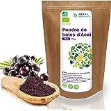 Bayas De Acai En Polvo Orgánico 100 g – Bayas Acai Congelado BIO (Freeze – Dried / Liofilizadas) – Acai Berry Extracto Crudo