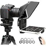Desview T3 Teleprompter Tablet compatibel met iPhone iPad Air 11 inch, DSLR Camera Teleprompter compatibel met Canon Nikon So