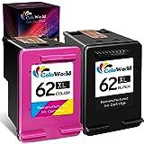 ColoWorld Rigenerata 62 62XL Cartucce d'inchiostro Nero Tricromia per HP 62 XL per hp Envy 5540 5541 5542 5544 5545 5546 5547