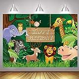 Decoraciones de Fiesta Temática de Selva, Telón de Fondo Selva Safari, Selva Safari Telón Fondo Foto, para la Fiesta Cumpleañ