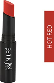 NELF Powder Matte Lipstick, Hot Red, 3 g