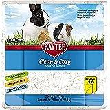 Kaytee Clean & Cozy, Sustrato de virutas de papel muy absorbente para roedores, 12.3 litros