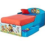 La Pat' Patrouille - Lit pour enfants avec espace de rangement sous le lit