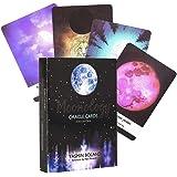 DALIN Moonology Oracle 44 Carte Deck e Guida Inglese Guida Divinazione