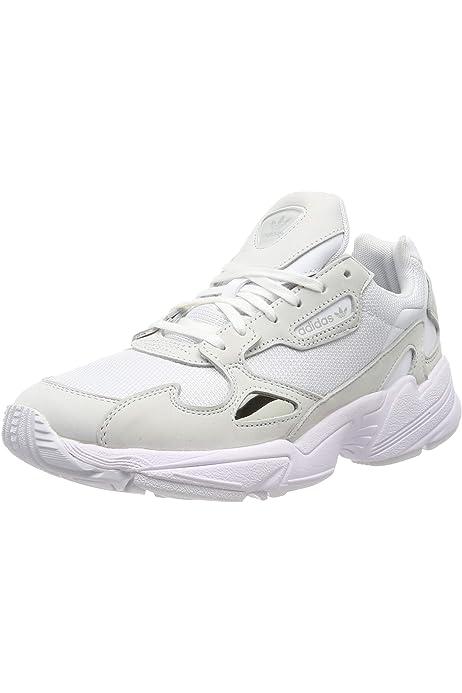 Adidas Falcon W, Zapatillas de Deporte para Mujer, Negro (Negbás/Negbás/Gricin 000), 44 EU: Amazon.es: Zapatos y complementos