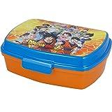 | Dragon Ball | Sandwichera Para Niños Decorada - Fiambrera Infantil | Caja Para El Almuerzo Y Porta Merienda Para Colegio -